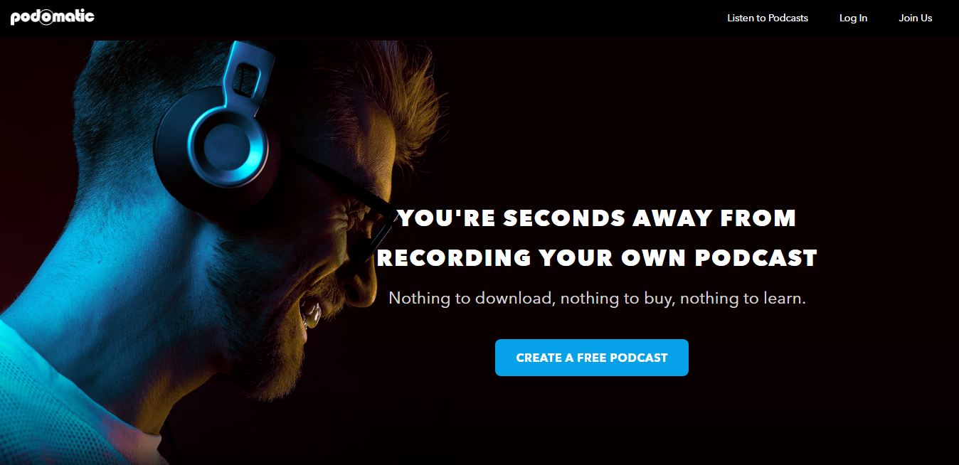 PodOmatic podcast hosting sites