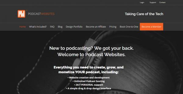 Podcast Websites