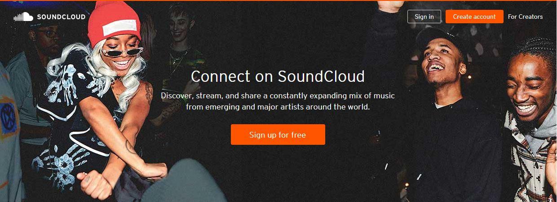 Soundcloud Podcast hosting sites