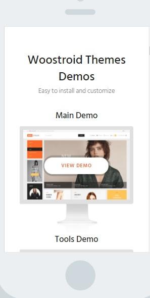 Mobile-First Design SEO-Friendly Theme
