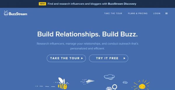 BuzzStream influencer outreach tools