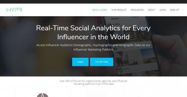 HYPR influencer outreach tools