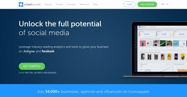 Iconosquare influencer outreach tools