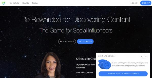 Kred influencer outreach tools