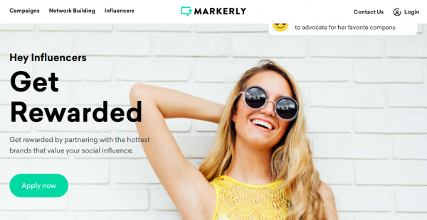 MARKERLY influencer outreach tools