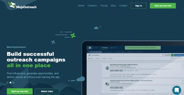 NinjaOutreach influencer outreach tools