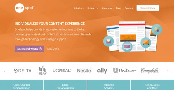 OneSpot content marketing platforms
