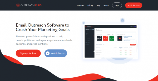 OutreachPlus influencer outreach tools