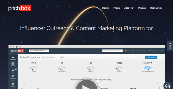 Pitchbox influencer outreach tools