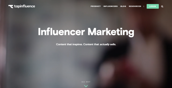 TapInfluence influencer outreach tools