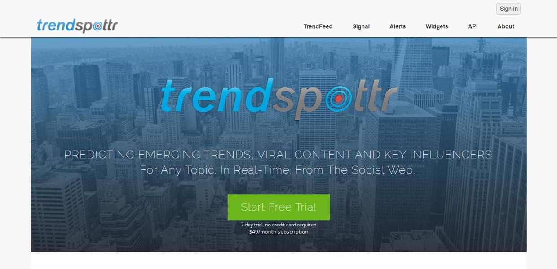 Trend Spottr