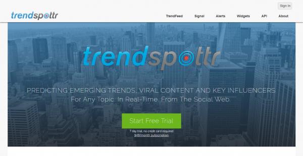 TrendSpottr influencer outreach tools