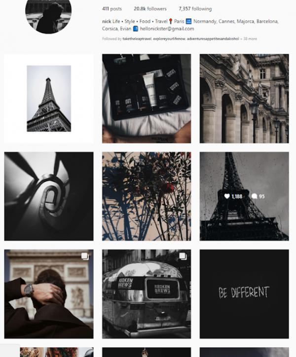 genuine influencer's profile - identifying social media influencers