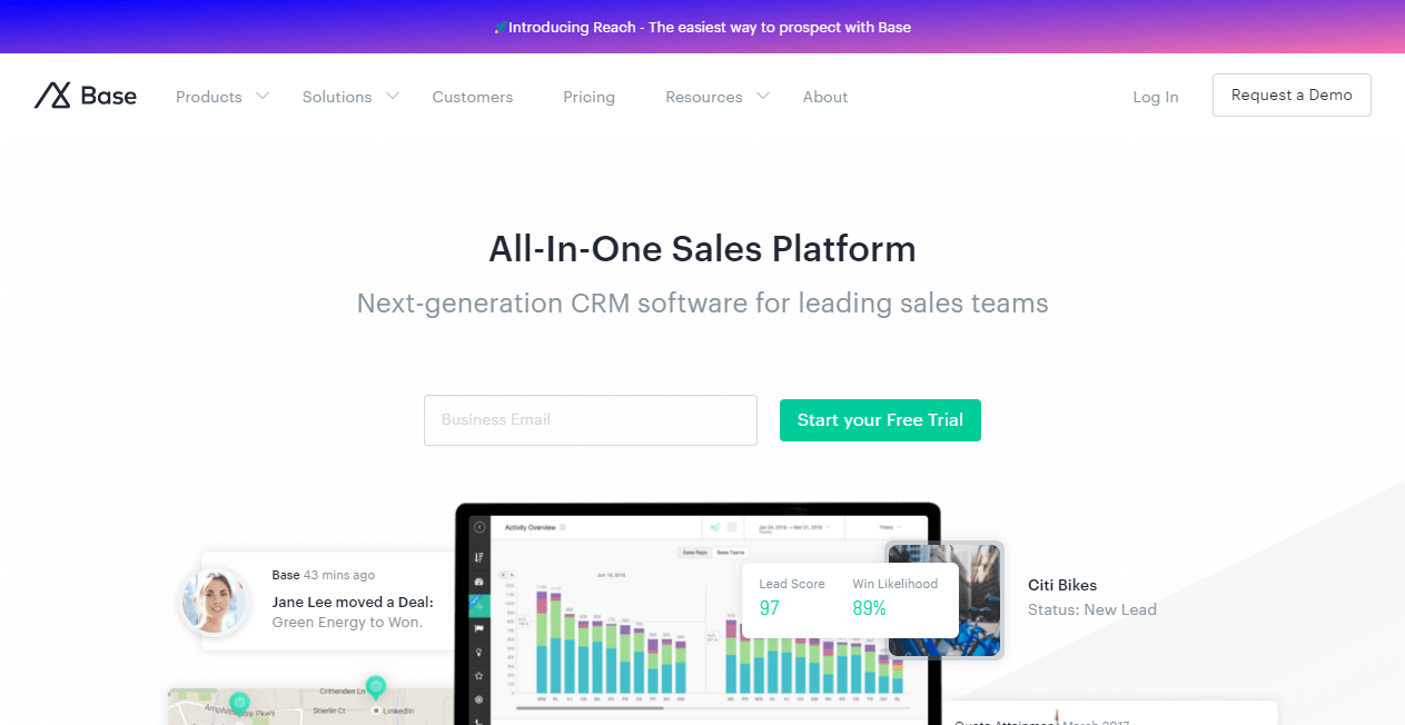 Base sales funnel tools