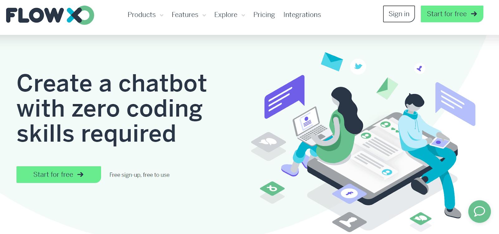 Flow XO Best AI Chatbot Platforms