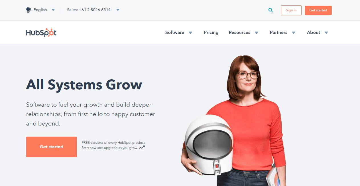 HubSpot sales funnel tools