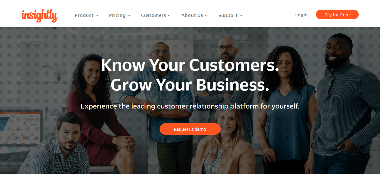 Insightly sales funnel tools