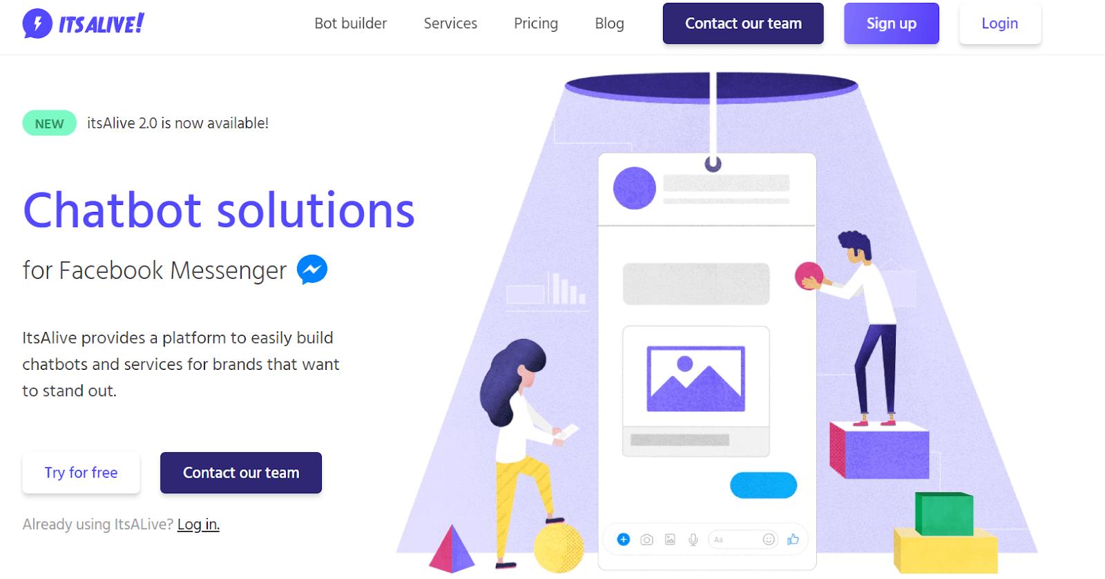 ItsAlive Best AI Chatbot Platforms