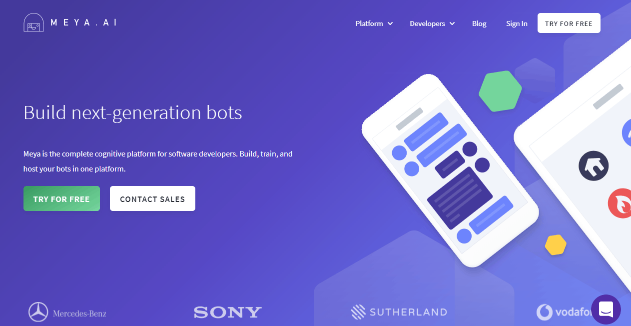 Meya ai Best AI Chatbot Platforms