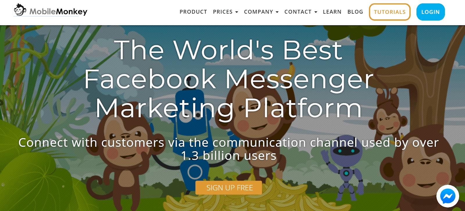 MobileMonkey Best AI Chatbot Platforms