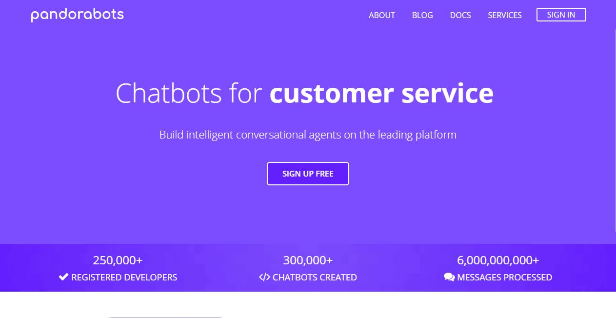 Pandorabots Best AI Chatbot Platforms