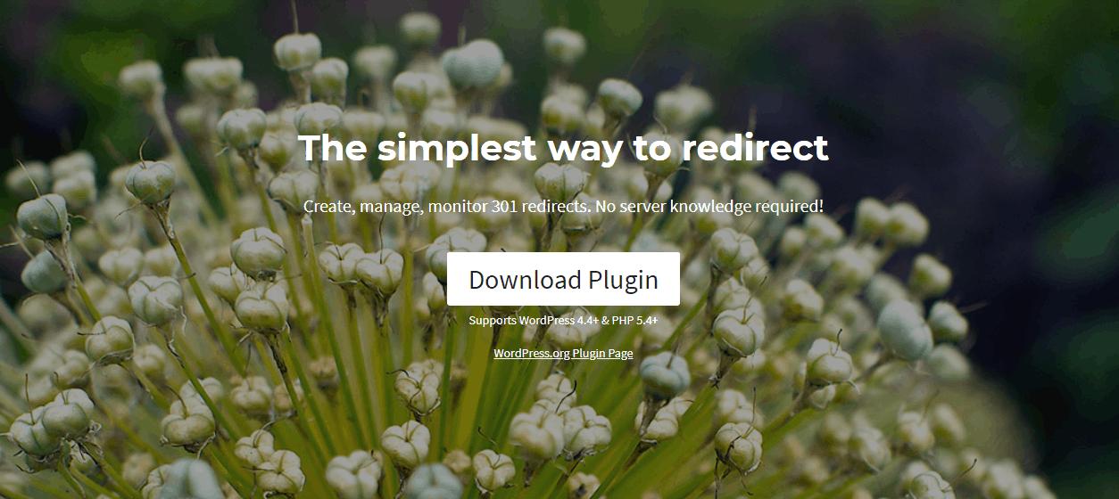 Redirection - best SEO plugins for WordPress