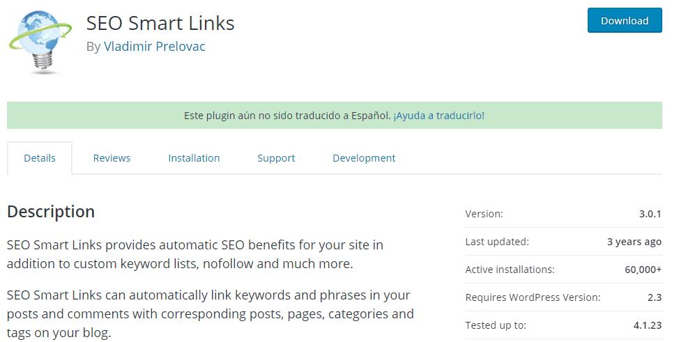 SEO Smart Links - best SEO plugins for WordPress