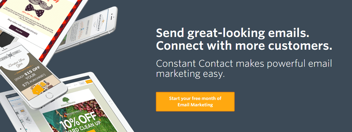 Constant Contact email marketing tools