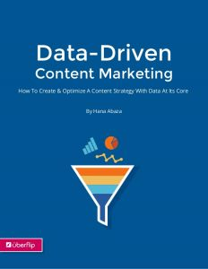 Data-Driven Content Marketing digital marketing ebooks