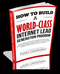 How to Build a World-Class Internet Lead Generation Program digital marketing ebooks
