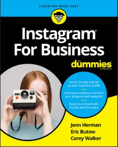 Instagram For Business For Dummies digital marketing ebooks