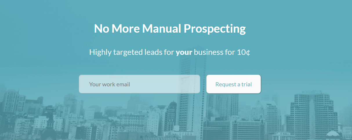 Slik Prospector email marketing tools