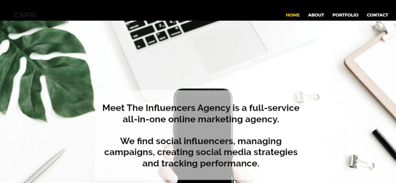Meet the Influencers Agency
