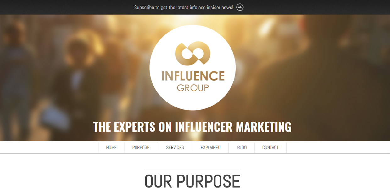 The Influence Group