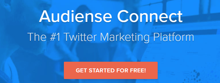 Audiense Connect Twitter Marketing Tools