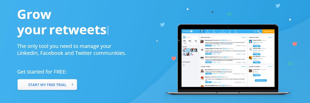 Twitter Marketing Tools - Communit