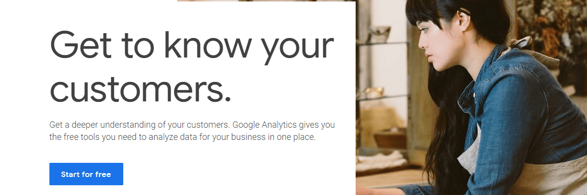 Google Analytics - seo audit tool