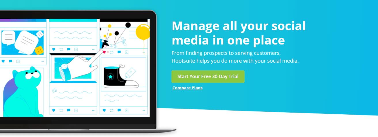 Hootsuite Facebook Marketing Tools