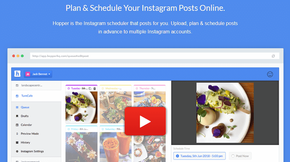 Hopper Instagram Marketing Tools