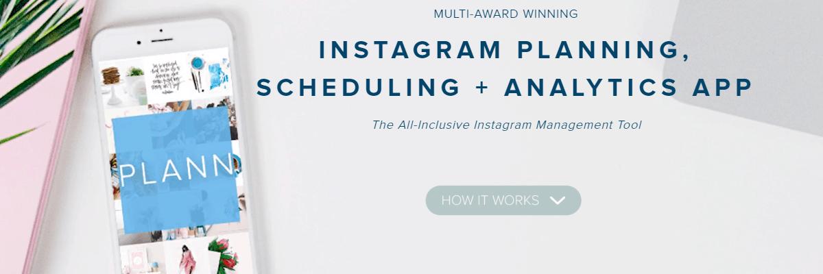 PLANN Instagram Marketing Tool