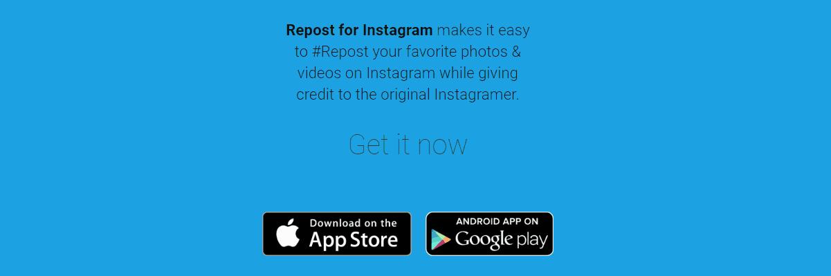 Repost Instagram Marketing Tool