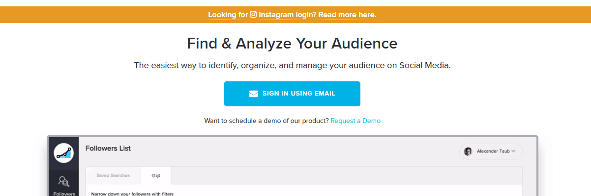 Twitter Marketing Tools - SocialRank