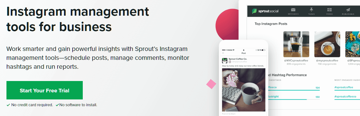 Sprout Social Instagram Marketing Tools