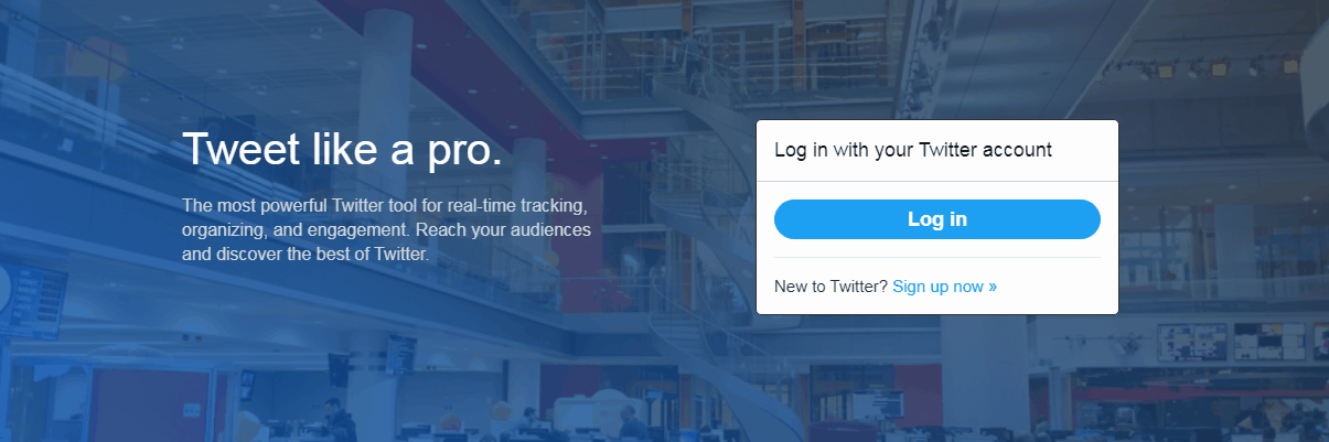 Twitter Marketing Tools - TweetDeck