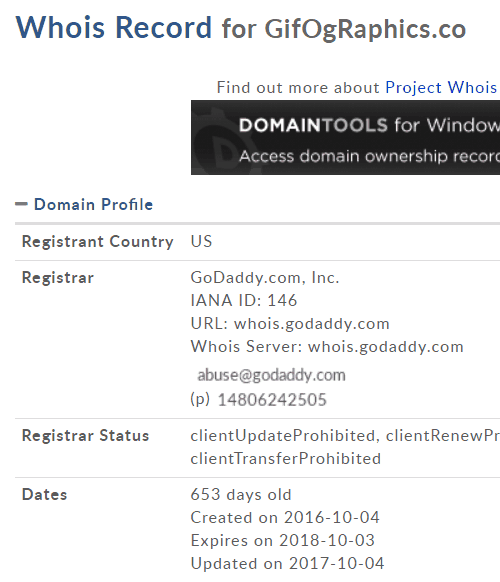 Year-Old Domain - website traffic