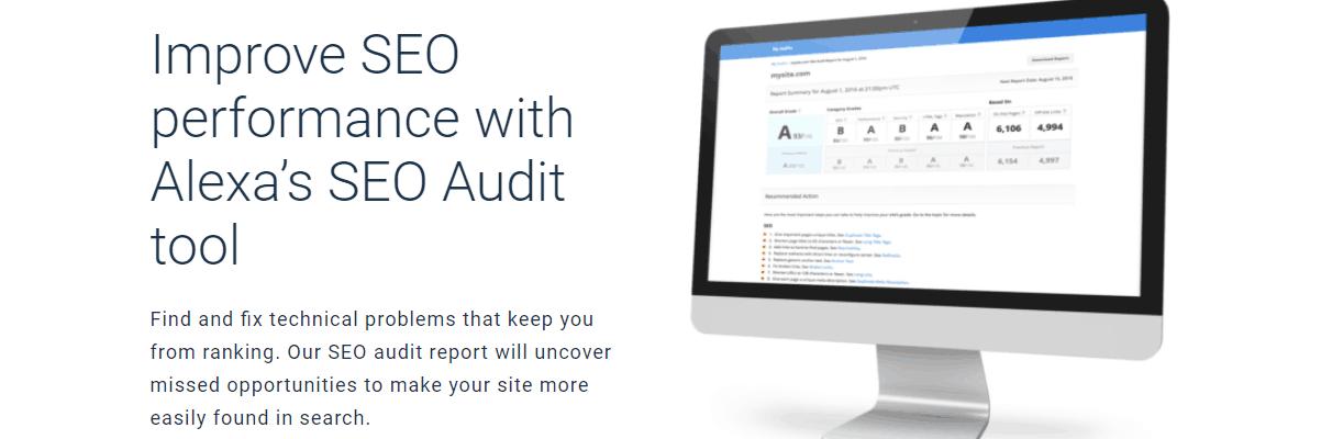 Alexa SEO Audit Tool