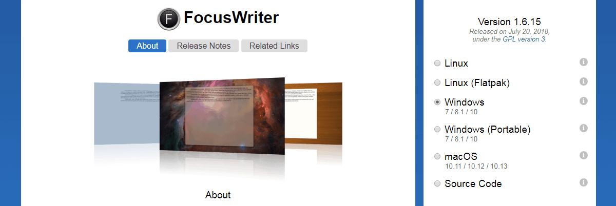 FocusWriter - Content Writing Tools