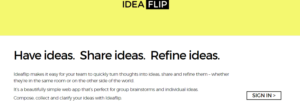 Ideaflip - Content Writing Tools