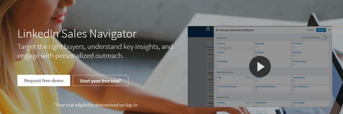 LinkedIn Sales Navigator LinkedIn Tool