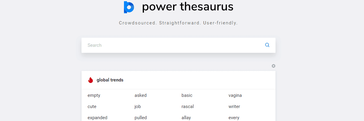 Power Thesaurus - Content Writing Tools